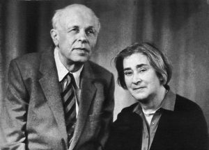 Андрей Сахаров и Елена Боннэр