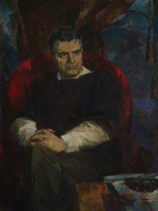 «Портрет Фазиля Искандера», 1986 г.