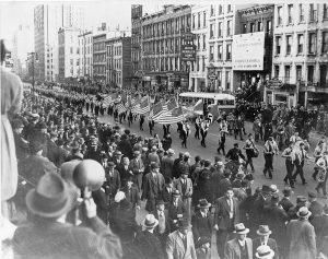 Парад Германо-американского союза, Нью?Йорк, 30 октября 1939 г.