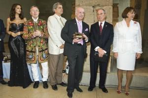 Во время церемонии награждения в Нью-Йорке