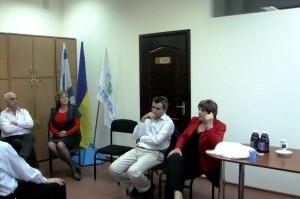 Во время встреч делегации с еврейской молодежью