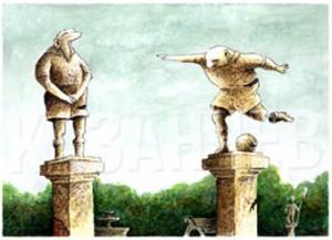 Карикатура Константина Казанчева