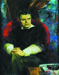 Портрет писателя Фазиля Искандера