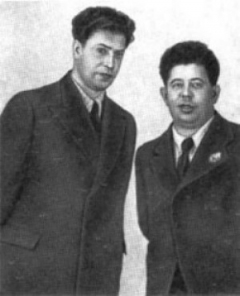 Даниил (слева) и Дмитрий Покрассы