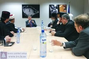 Делегация Всеукраинского Совета Церквей встретилась со Штефаном Фюле