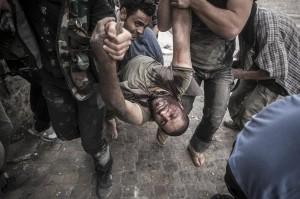 Госпиталь для раненых сирийцев