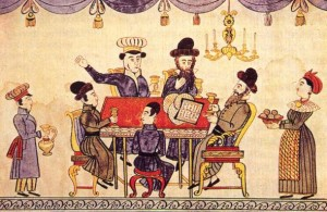 Празднование Песаха в Украине, XIX век
