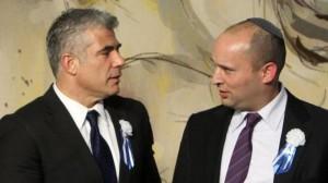 Яир Лапид и Нафтали Беннет