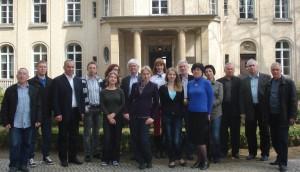 Участники семинара «Геноцид европейских евреев – история и память»