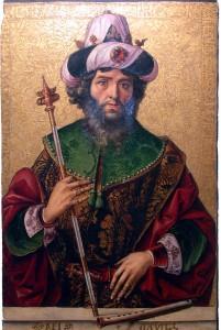 Педро Берругете, Давид, XV в.