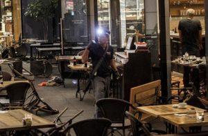После теракта в тель-авивском развлекательном центре «Сарона»