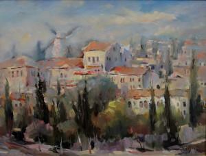 «Вид на Ямин Моше», 1998
