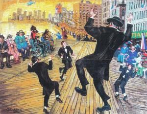 «Танец на Бордвоке», 2003