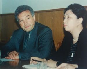 С руководителем делегации китайских прокуроров