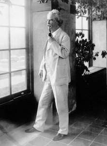 Сэмюэл Лэнгхорн Клеменс (Марк Твен). Около 1900 года