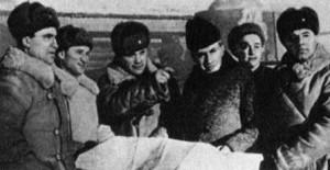 Ортенберг с Эренбургом на Западном фронте (Можайское направление), декабрь 1941 г.