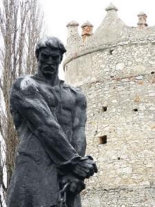 Памятник Устиму Кармелюку, Летичев