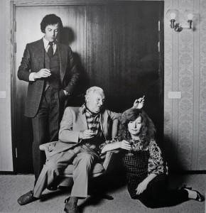 С Ильей Резником и Аллой Пугачевой, 1980-е
