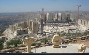 Строящийся город Rawabi (Раваби)