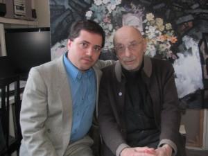Алек Эпштейн и Оскар Рабин, 25 декабря 2013 г.