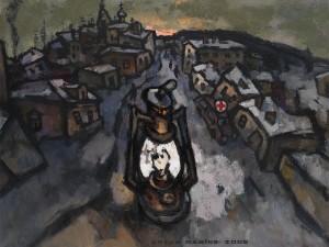 «Провинциальный город с лампой», 2006 г.