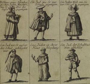 Евреи в традиционной одежде, Нюрнберг