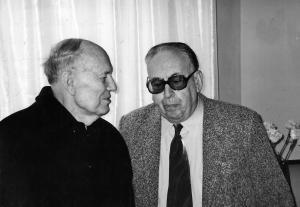 Борис Патон и Исаак Трахтенберг