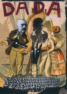 «Дада. коллаж», Эрвин Блюменфельд,  1920 г.