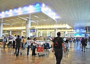 Али Манцури в аэропорту имени Бен-Гуриона
