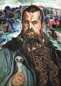 Моисей (портрет митрополита Шептицкого), худ. Олекса  Новаковский, 1915-19 гг.