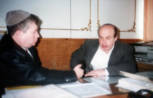 Первое интервью Михаила Френкеля с Натаном Щаранским, 1993 год