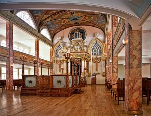 Синагога в историческом центре Мехико-Сити