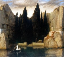 """""""Остров мертвых"""", худ. А. Беклин, 1884"""