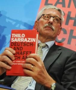 Тило Сарацин на презентации своей книги
