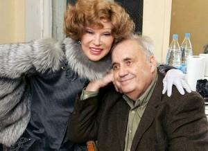 С Людмилой Гурченко