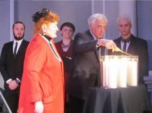 Зажжение шестой свечи