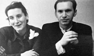 Ванда и Маркус Клингберг в 50-х годах