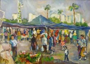 «Рынок в Ашдоде», 1993 г.