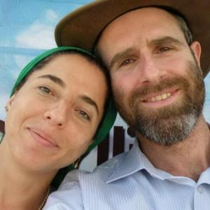 Дафна Меир с супругом