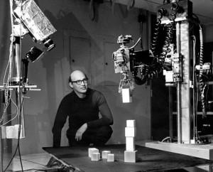 Марвин Минский в лаборатории МТИ, 1968 г.