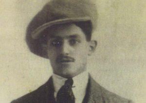 Чемпион мира в легком весе Сидней Джаксон, 1910 г.