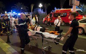 Теракт в Ницце 14 июля 2016 года. 85 человек погибли, около 20 – в критическом состоянии