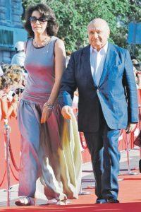С женой Натальей