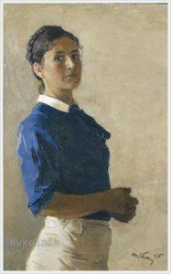 Автопортрет,1945 г.
