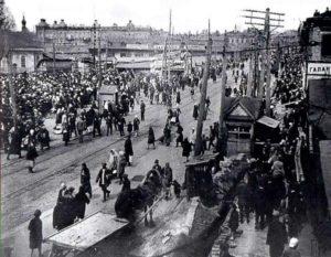 В народе Галицкий рынок именовали Еврейским базаром