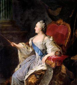 Портрет Екатерины II, 1763 г.