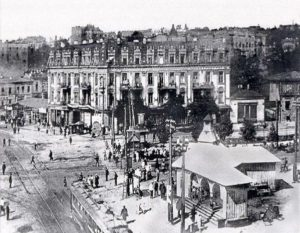 Евбаз считался этаким «культурным центром города»