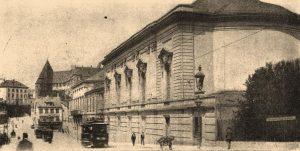 Здание казино, где заседал базельский конгресс сионистов