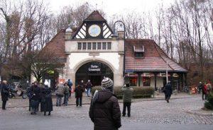 Станция Грюневальд в Берлине. Отсюда с семнадцатой платформы отправляли евреев в лагеря смерти вплоть до 27 марта 1945 года