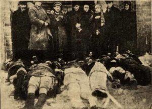 Жертвы петлюровской резни в Проскурове, февраль 1919 г.
